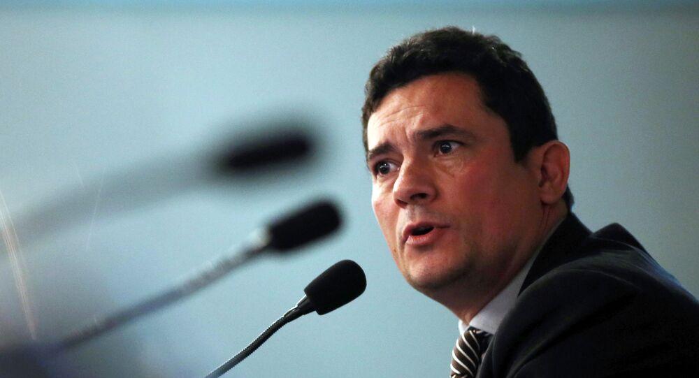 Sérgio Moro, juez encargado de la Operación Lava Jato