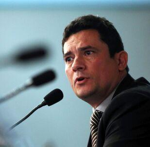 Sérgio Moro, exministro de Justicia del Gobierno de Bolsonaro