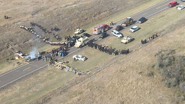 Protestas en Dakota (archivo) - Sputnik Mundo