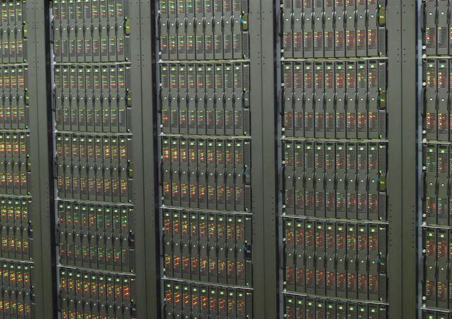 Un superordenador (archivo)
