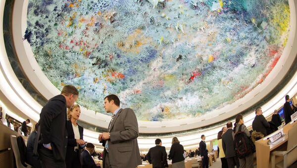 El Consejo de Derechos Humanos de la ONU - Sputnik Mundo