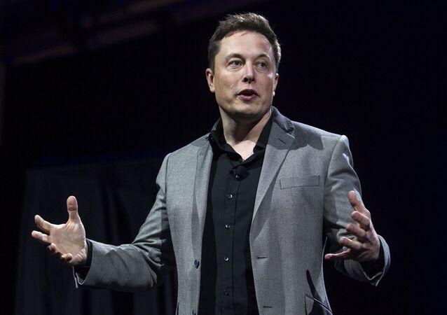 Elon Musk, CEO de Tesla Motors y SpaceX