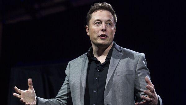 Elon Musk, CEO of Tesla Motors and SpaceX - Sputnik Mundo