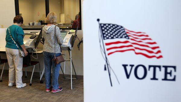 Votación en EEUU - Sputnik Mundo