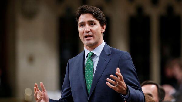 Justin Trudeau, pimer ministro de Canadá - Sputnik Mundo