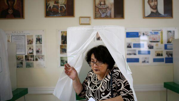 Elecciones parlamentarias en Georgia - Sputnik Mundo