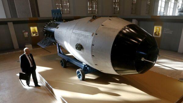 La réplica de la Tsar Bomba (AN-602) - Sputnik Mundo