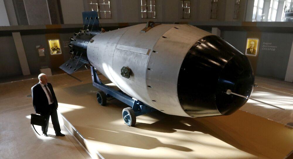 La réplica de la Tsar Bomba (AN-602)