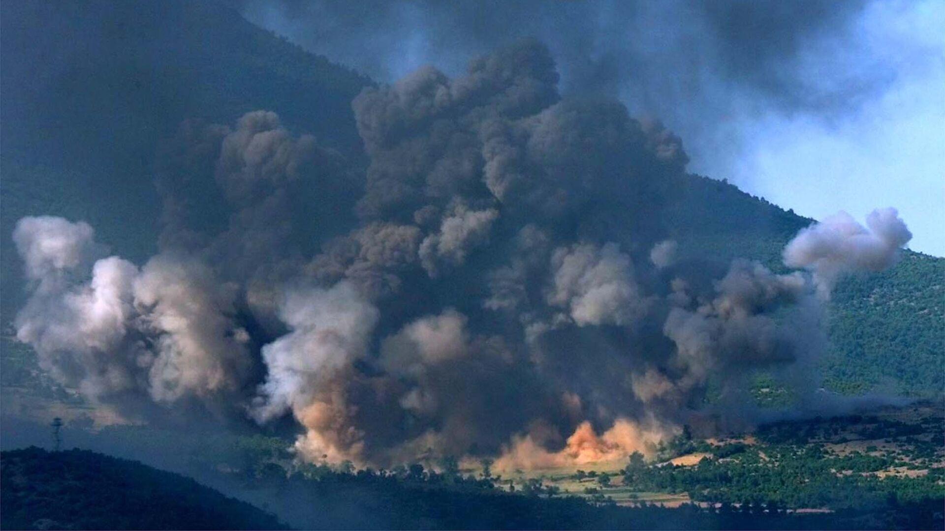Bombardeos en Kosovo en 1999 (archivo) - Sputnik Mundo, 1920, 24.03.2021