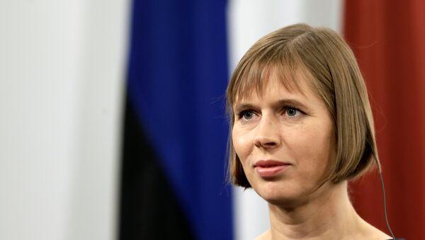 Kersti Kaljulaid - Sputnik Mundo