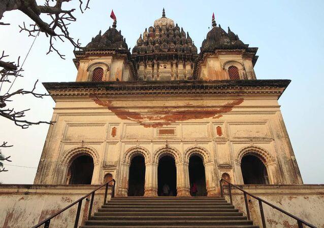 Un templo en Bangladés