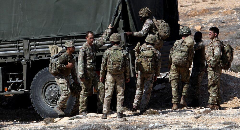 Militares británicos en Chipre