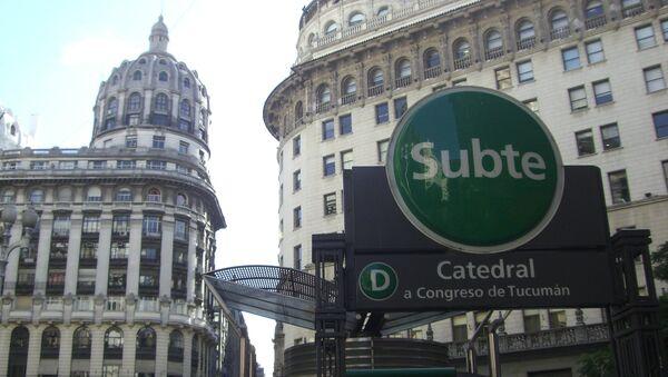 El subte de Buenos Aires - Sputnik Mundo