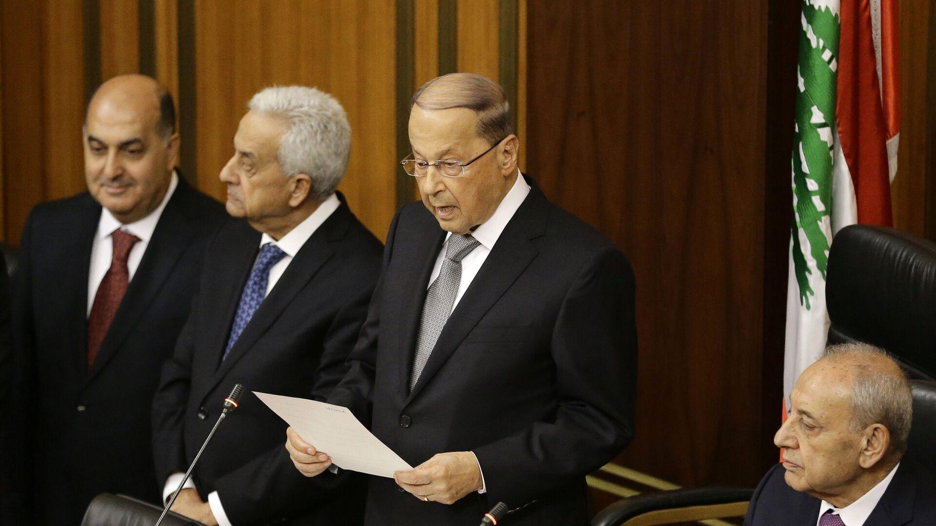 Michel Aoun, el presidente electo de Líbano - Sputnik Mundo, 1920, 10.09.2021