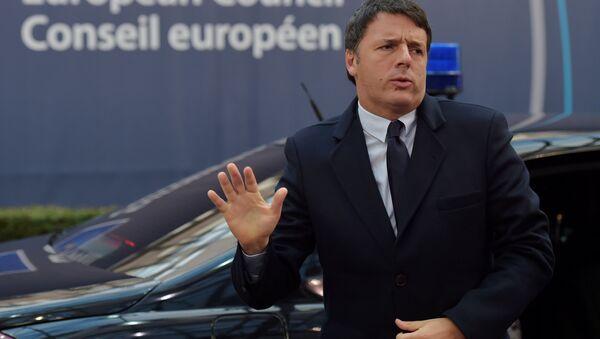 Matteo Renzi - Sputnik Mundo