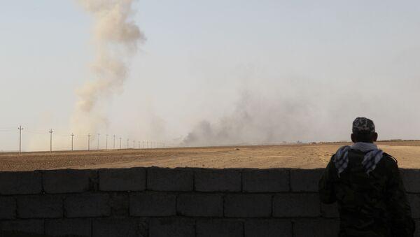 La lucha contra los terroristas de Daesh en Mosul, Siria - Sputnik Mundo
