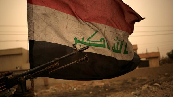 Bandera de Irak (archivo) - Sputnik Mundo