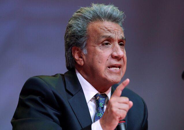 Lenín Moreno, presidente ecuatoriano
