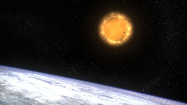 Venus termina su viaje enfrente del Sol - Sputnik Mundo