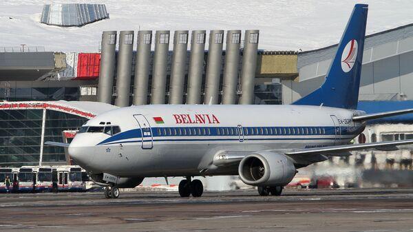 Boeing 737авиакомпании Белавиа в аэропорту Внуково - Sputnik Mundo