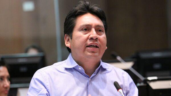 Fausto Cayambe - Sputnik Mundo