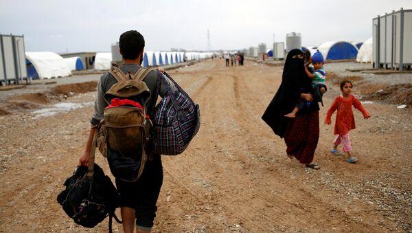 Desplazados internos de Mosul - Sputnik Mundo