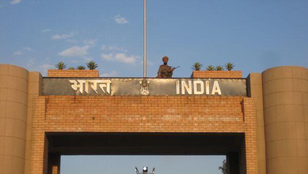 La frontera entre Pakistán y la India - Sputnik Mundo