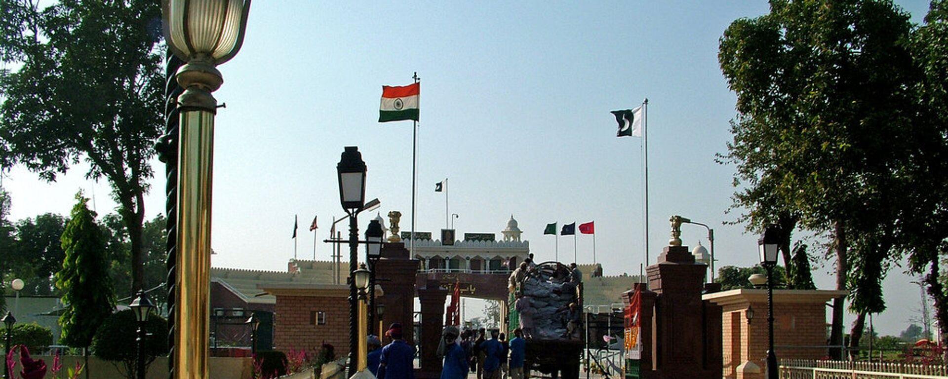Frontera entre Pakistán y la India - Sputnik Mundo, 1920, 25.02.2021