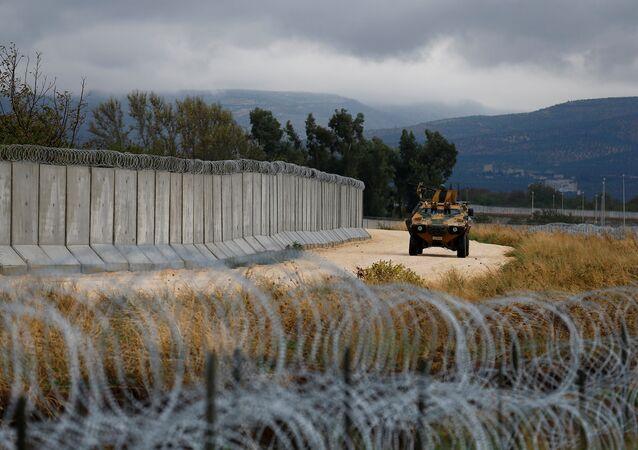 Militares turcos en la frontera con Siria (archivo)