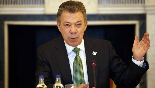 Juan Manuel Santos, el presidente de Colombia - Sputnik Mundo