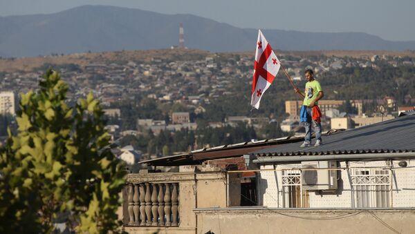 La bandera de Georgia - Sputnik Mundo