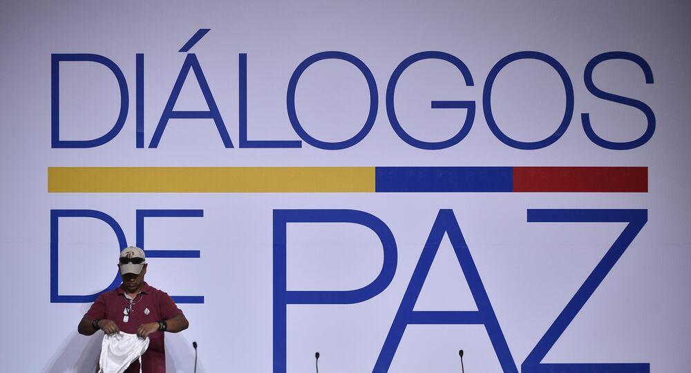 El proceso de paz entre el Gobierno colombiano y el ELN (imagen referencial)