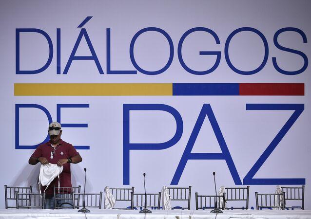 El proceso de paz entre el Gobierno colombiano y el ELN