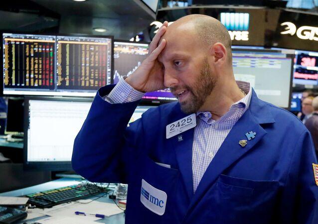 Meric Greenbaum en la bolsa de valores de Nueva York