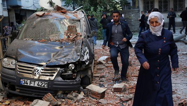 La situación tras el atentado en Turquía - Sputnik Mundo