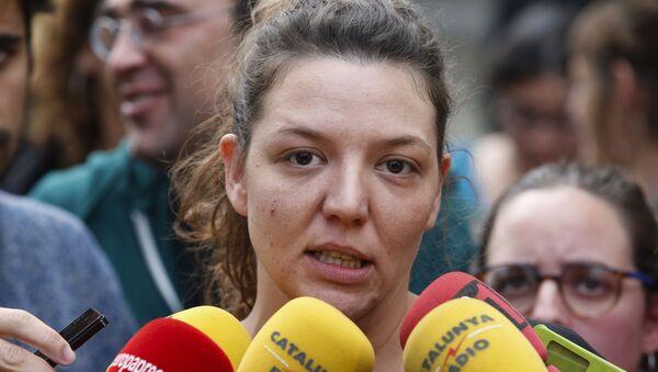 Alcaldesa de la localidad catalana de Berga, Montserrat Venturós - Sputnik Mundo
