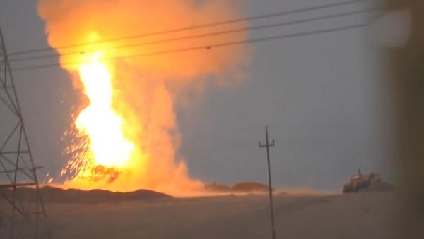 Explosión del M1 Abrams en Mosul - Sputnik Mundo