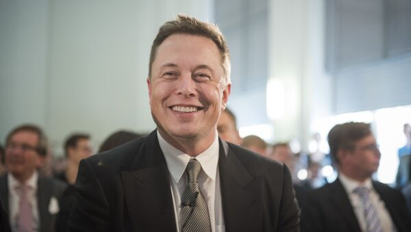 Elon Musk, director jefe de SpaceX y Tesla Motors - Sputnik Mundo