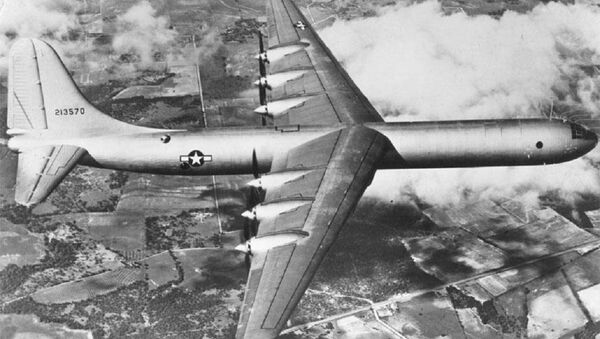 El bombardero B-36 (archivo) - Sputnik Mundo