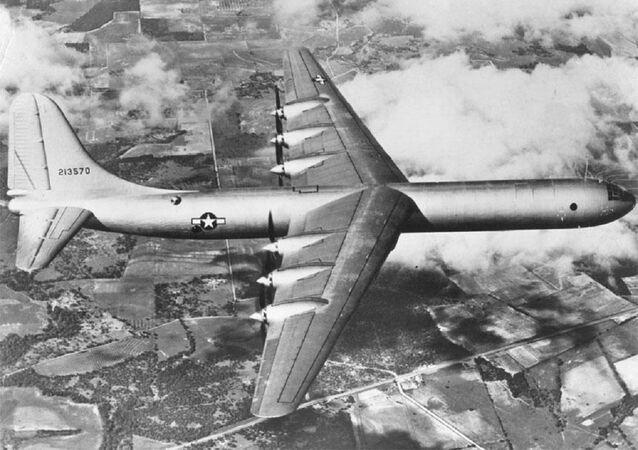 El bombardero B-36 (archivo)