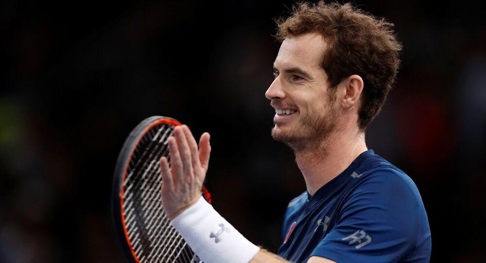 Andy Murray, tenista británico