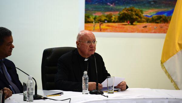 Claudio María Celli, enviado especial del Vaticano a Venezuela - Sputnik Mundo