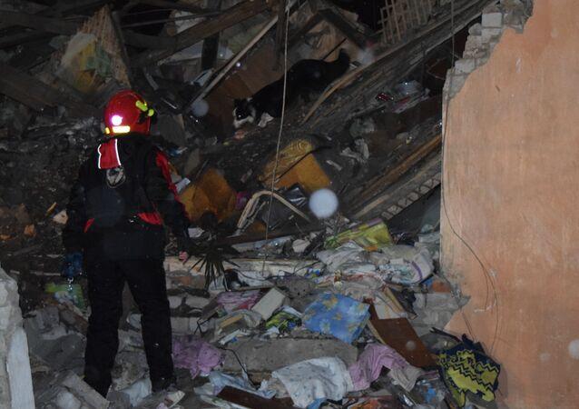 Explosión de gas en Ivánovo
