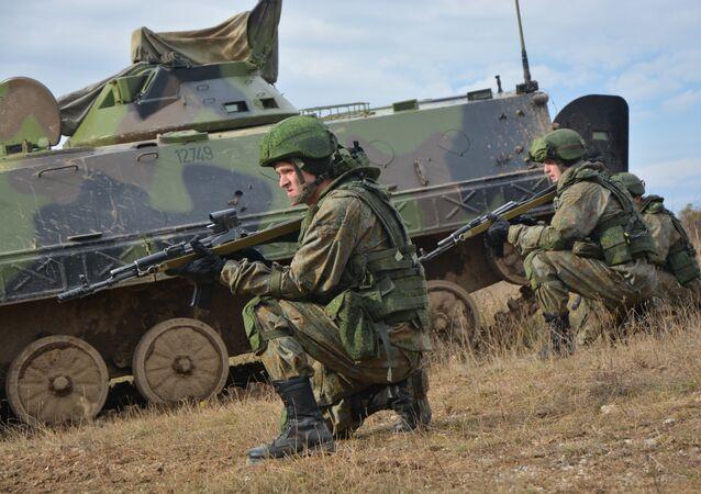 Las maniobras conjuntas Rusia-Bielorrusia-Serbia, Hermandad Eslava 2016