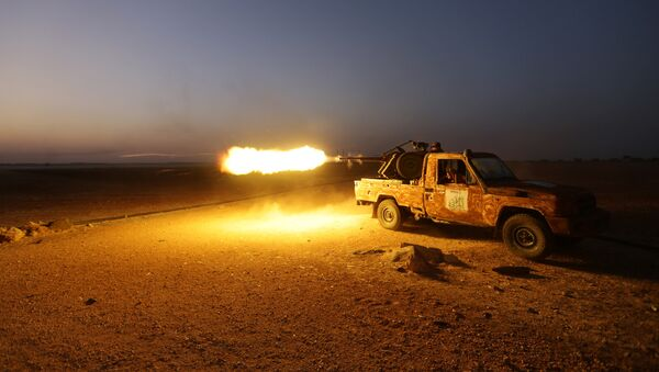 Grupos armados en Siria (Archivo) - Sputnik Mundo