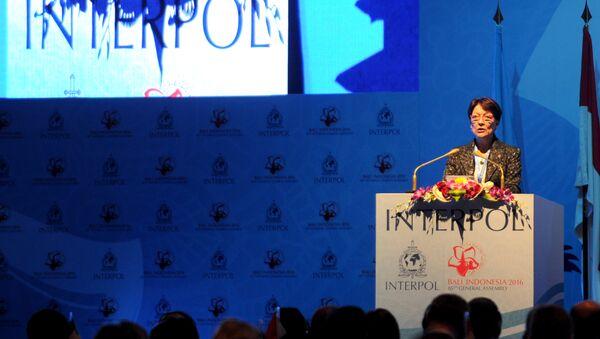 Mireille Ballestrazzi, presidenta de la Organización Internacional de Policía Criminal (Interpol) - Sputnik Mundo
