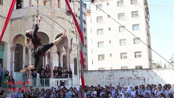 Caravana Palestina Libre y Feliz (2016) - Sputnik Mundo