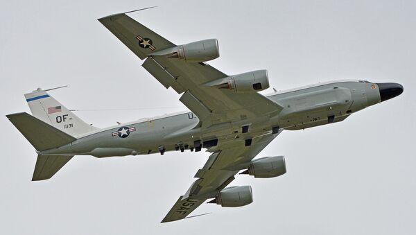 Avión de reconocimiento RC-135W (archivo) - Sputnik Mundo