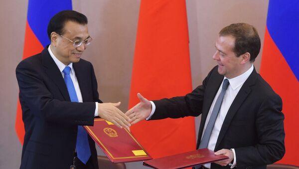 La XXI reunión de los jefes de Gobierno de China y Rusia - Sputnik Mundo