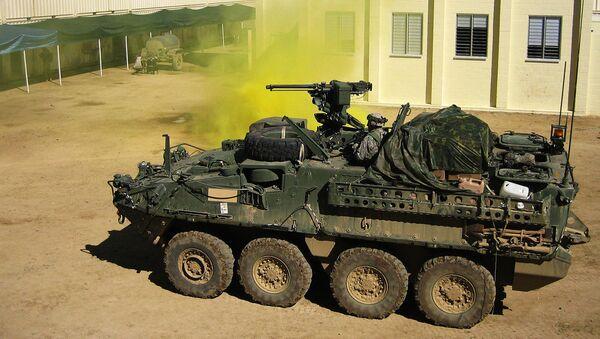 Vehículo blindado Stryker - Sputnik Mundo